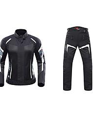 baratos -DUHAN 186 Roupa da motocicleta Conjunto de calças de jaquetaforFeminino Poliéster Verão Scratch Resistant / Antichoque / Respirável