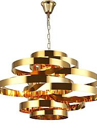 Недорогие -QIHengZhaoMing 6-Light Оригинальные Люстры и лампы Рассеянное освещение 110-120Вольт / 220-240Вольт, Теплый белый, Лампочки включены / 15-20㎡