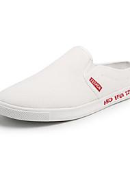 cheap -Men's Canvas Summer Comfort Loafers & Slip-Ons Red / Black / White / White / Green