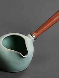 cheap -Ceramic / Wood Heatproof / Tea Irregular 1pc Kettle