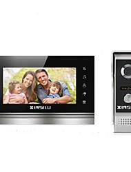 Недорогие -XINSILU XSL-V70K-M4 7 дюймовый Гарнитура 800*480 пиксель Один к одному видео домофона