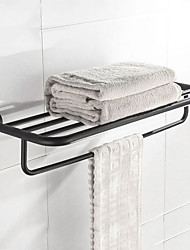 cheap -Bathroom Accessory Set / Towel Bar / Bathroom Shelf New Design / Creative / Multilayer Contemporary / Antique Stainless steel 1pc - Bathroom / Hotel bath Wall Mounted