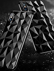 お買い得  -ケース 用途 Apple iPhone X / iPhone 8 耐埃 バックカバー ソリッド ソフト TPU のために iPhone X / iPhone 8 Plus / iPhone 8