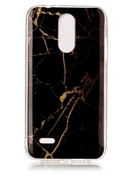 cheap -Case For LG K8 (2017) Pattern Back Cover Marble Soft TPU for LG K4(2017)