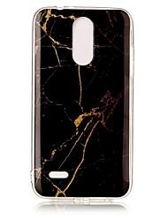 Недорогие -Кейс для Назначение LG K8 (2017) С узором Кейс на заднюю панель Мрамор Мягкий ТПУ для LG K4 (2017)