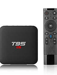 economico -PULIERDE T95 S1 TV Box Android 7.1 TV Box Amlogic S905W 2GB RAM 16GB ROM Quad Core Nuovo design