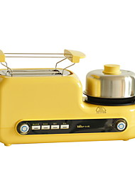 cheap -Toasters & Grills New Design Stainless Steel Toasters 220-240 V 1080 W Kitchen Appliance