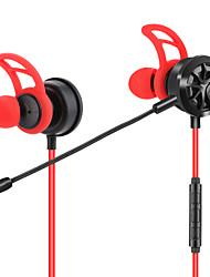 economico -JTX Nell'orecchio Filo Auricolari e cuffie Auricolari Acryic / Poliestere Sport e Fitness Auricolare Dotato di microfono / comodo cuffia