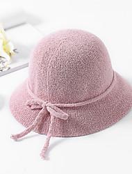 Недорогие -Жен. Классический / Праздник Шляпа от солнца Однотонный