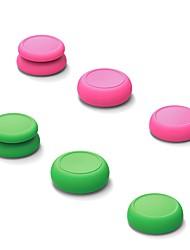 billiga -Game Controller Tillbehörssatser Till Nintendo Switch ,  Förtjusande Game Controller Tillbehörssatser Silikon 6 pcs enhet