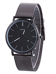 cheap -Xu™ Women's Wrist Watch Chinese Creative / Casual Watch / Large Dial Alloy Band Fashion / Minimalist Silver / One Year