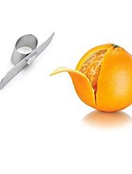 Недорогие -Кухонные принадлежности Нержавеющая сталь Творческая кухня Гаджет Для фруктов и овощей / Овощные ножи Оранжевый 1шт