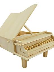 """economico -Modellini di legno Pianoforte Fantasia """"Cartone 3D"""" di legno 1 pcs Per ragazzi Tutti Regalo"""
