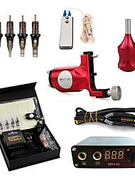 abordables -LANJUE TATTOO Machine à tatouer Kit de tatouage professionnel - 1 pcs Machines de tatouage, Professionnel / Kits / Facile à installer Alliage d'aluminium 1 x Machine à tatouer rotative pour le