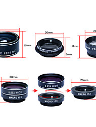 cheap -Mobile Phone Lens Fish-Eye Lens / Long Focal Lens / Wide-Angle Lens Aluminium Alloy 10X and above 0.01 m 70 °