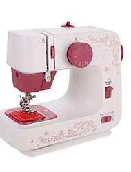 Недорогие -meditool швейная машина электрический многофункциональный 12 встроенных стежков для начинающих стартер 2 скорости оверлока бытовой швейной инструмент красный