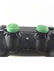 Недорогие -Игровой контроллер Thumb Stick Grips Назначение PS4 / PS4 Тонкий / PS4 Prop ,  Игровой контроллер Thumb Stick Grips Силикон 1 pcs Ед. изм