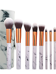 cheap -10-Pack Makeup Brushes Professional Blush Brush / Eyeliner Brush / Powder Brush Nylon fiber Professional / Full Coverage / Synthetic