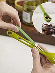 baratos -1pç Utensílios de cozinha PP Fácil de transportar / Ferramentas Sala de Jantar e Cozinha / Colher Multifunções / Fruta