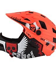 Недорогие -MOON Для подростков Мотоциклетный шлем / BMX Шлем 22 Вентиляционные клапаны ESP+PC, прибыль на акцию, Этиленвинилацетат Виды спорта На открытом воздухе - Желтый / Зеленый / Синий Универсальные