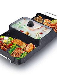 abordables -Electric Griddles et Rôtisserie Design nouveau / Multifonction Acier inoxydable / ABS + PC Fabricants et fours de pizza 220-240 V 1500 W