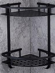 economico -Mensola del bagno / Porta spazzolini / Sapone Piatti e Supporti Nuovo design / Multistrato / Multiuso Modern Alluminio 1pc Montaggio su