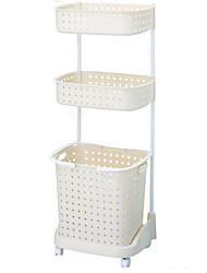 cheap -Cosmetics Storage / Storage New Design / Storage / Creative Ordinary / Modern / Contemporary / Fashion Plastics 1pc Bathroom Decoration