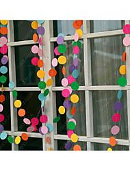 Недорогие -Уникальный декор для свадьбы Чистая бумага Свадебные украшения Свадьба / День рождения Сад / Свадьба / Семья Все сезоны