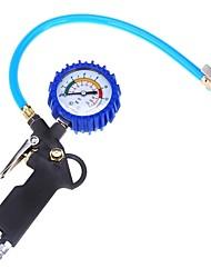 Недорогие -точный автомат для измерения давления в шинах для автомобиля, пистолет гибкий шланг 0-220 фунтов на квадратный дюйм
