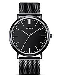 baratos -SINOBI Relógio de Pulso Emissores Impermeável, Resistente ao Choque Preto / Dois anos / Japanês / Japanês / Dois anos
