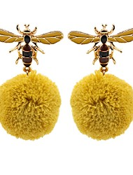 cheap -Women's 3D Drop Earrings - Bee Stylish, Classic Gold For Daily / Going out