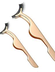 preiswerte -3 pcs Stück Augenwimpern Pinzetten Rustless Eisen Others Alltag Metallisch Sets / Einfach zu tragen / Praktisch Freizeitskleidung / Praxis Make-up Alltag Make-up