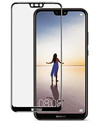 Недорогие -Защитная плёнка для экрана для Huawei Huawei P20 Закаленное стекло 1 ед. Защитная пленка для экрана HD / Уровень защиты 9H / Взрывозащищенный