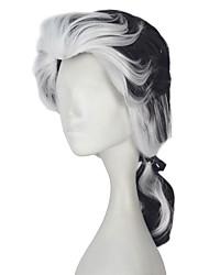 Недорогие -Косплэй парики Косплей Косплей Белый Аниме Косплэй парики 18 дюймовый Термостойкое волокно Все Хэллоуин парики
