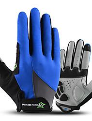Недорогие -ROCKBROS Полныйпалец Универсальные Мотоцикл перчатки Ткань Сенсорный экран / Дышащий