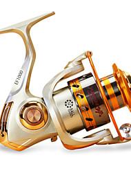 cheap -Fishing Reel Spinning Reel 5.5/1 Gear Ratio+12 Ball Bearings Hand Orientation Exchangable Sea Fishing / Carp Fishing