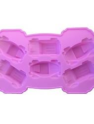 Недорогие -Инструменты для выпечки силикагель Милый 3D Торты Формы для пирожных 1шт