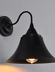 cheap -Anti-Glare Rustic / Lodge Wall Lamps & Sconces Living Room Metal Wall Light 220-240V 40 W / E27