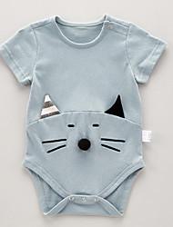 お買い得  -赤ちゃん 女の子 パッチワーク 半袖 ボディスーツ