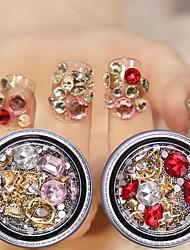 halpa -5 pcs Multi Function / Paras laatu Ympäristöystävällinen materiaali Nail Jewelry Käyttötarkoitus Luova kynsitaide Manikyyri Pedikyyri Päivittäin muodikas / Muoti