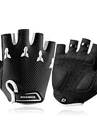 Недорогие -ROCKBROS Half-палец Универсальные Мотоцикл перчатки Ткань / Поли уретан Дышащий / Износостойкий