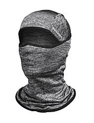 baratos -ROCKBROS Máscaras de Esqui Verão Pavio Humido / Resistente Raios Ultravioleta / Respirável Acampar e Caminhar / Ciclismo / Moto / Corrida Unisexo Raiom Sólido / Elasticidade Alta