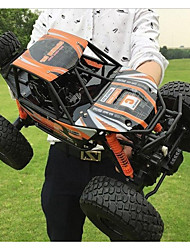 abordables -Voitures RC  MZ 2837 ColossalFoot  Monster Truck Rock Crawlers 4 canaux 2.4G Buggy (Hors des routes) / Camion / Rock Climbing Car 1:10 8.5 km/h Eau / saleté+D4731 / antichoc