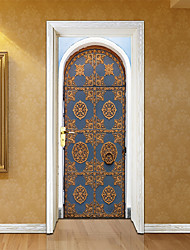 cheap -Door Stickers - 3D Wall Stickers Abstract / Landscape Living Room / Bedroom