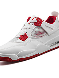 cheap -Men's Shoes PU(Polyurethane) Spring / Fall Comfort Athletic Shoes Basketball Shoes White / Red / Blue