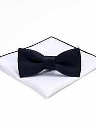 baratos -Homens Vintage / Festa Gravata Borboleta - Laço Sólido