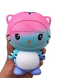 Недорогие -LT.Squishies Резиновые игрушки Устройства для снятия стресса Tiger Милый болотистый 1 pcs Для подростков Все Игрушки Подарок