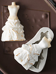 Недорогие -Инструменты для выпечки Силикон Праздник / 3D в мультяшном стиле / Креатив Торты / Шоколад / Для приготовления пищи Посуда Формы для пирожных 1шт