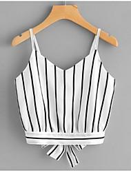 billige -Med stropper Dame - Geometrisk I-byen-tøj Tank Tops