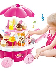 cheap -Pretend Play Ice Cream / Sweet Candy Shop Plastic Shell Preschool Gift 39 pcs